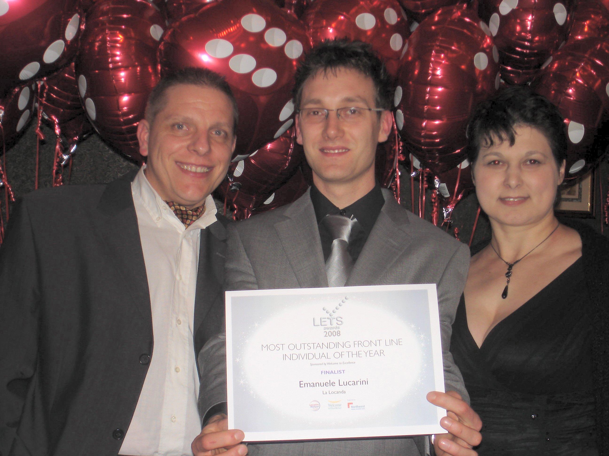 Maurizio, Emanuele and Cinzia